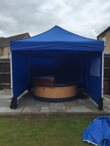Winter Hot Tub Hire Derby Nottingham Midlands
